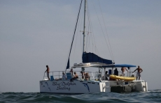 Blue Dolphin catamaran tour